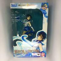 Bandai S.H.Figuarts ZERO Sailor Moon Sailor Mercury Figure ABS PVC New Anime JPN