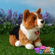 30cm Welsh Corgi dog Fluffy Plush Toy Loyal Partner Clever Health high quality