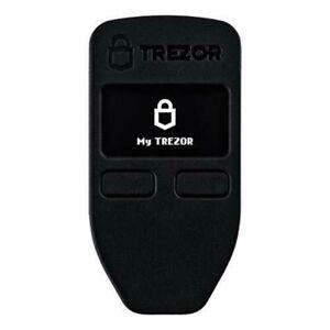 Bitcoin wallet TREZOR Toreza Black 0.6 x 3 cm 2 GB SatoshiLabs 5907595406666
