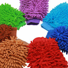Microfiber Soft Mitt Car Beauty Tool Wash Mitten Washing Glove Cleaning Brush