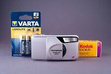 Olympus Superzoom 800S Quartz Date Point&Shoot Film Camera