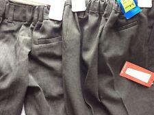 2 M&S Boys School Grey Trousers Regular Leg Fit 3-4 yrs
