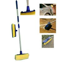 Blaster Wash Bruck with 5 D Head an Stiff Bristle Head Extendable Car Wash Brush