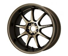 WORK EMOTION D9R 9.5/10.5J-19 +30 5x114.3 Ash Titanium set of 4 rims from JAPAN