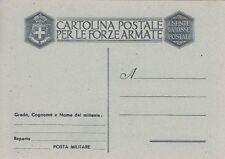A4577) WW2, FRANCHIGIA MILITARE LUOGOTENENZA CARTIGLIO GRANDE, GRIGIA.