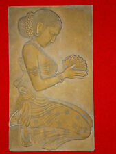 Nirvana the goal of spiritual practice in Buddhism stone wall sculpture