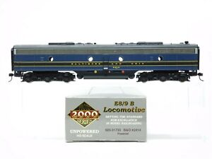 HO Scale Walthers Proto 2000 920-31733 B&O E8/9B Diesel Unpowered DUMMY #2414