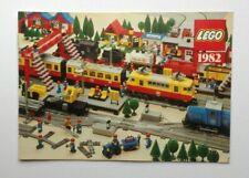 Lego 1982 Railway Train Sets & Accessories Brochure / book - 12V Town - German