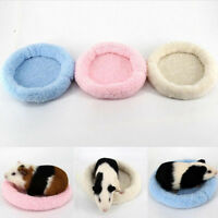 3x Rat Hamster Sleep Bed Pet Guinea Pig Ferret Squirrel Cage Soft Warm House