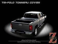 "Chevy Silverado 07-13 5.8 Ft (68"")Crew Cab Short Bed Tri-Fold Soft Tonneau Cover"