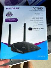 NETGEAR Ac1200 Dual Band WiFi Router Model R6120