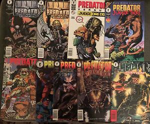 Aliens vs Predator Comic Lot Of 9 Great Condition