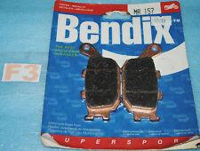 2 plaquettes de frein BENDIX Yamaha FZ1 FZ6 FZ8 YZF R1 R6  Kawasaki Z750 Z1000