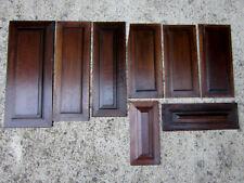 Panneaux bois pour ré emploi en noyer.Haute epoque,boiseries,bois sculpté,décors