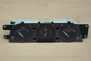 CLOCK / VOLTMETER / OIL GAUGE DASHBOARD MINOR INSTRUMENT PACK Jaguar XK8 XKR 4.0