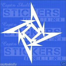 METALLICA STAR 200x200mm Multipurpose  Captn Skullys Stickers Online MPN 829d