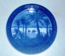 Vintage 1972 Royal Copenhagen Collector Plate Osterland - In the Desert