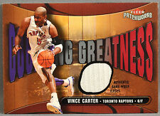03-04 Fleer Patchworks Vince Carter NBA JERSEY #191/350 2003 2004 RAPTORS