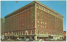 Hotel London Vintage Chrome Postcard London Ontario Canada Early Cars Autos