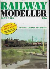 *RAILWAY MODELLER MAGAZINE -MAY 1985 - ft TONY SPARKS' 'STAMFORD EAST' [E]