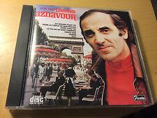 Charles Aznavour Sings His Most Popular Songs cd Fiesta