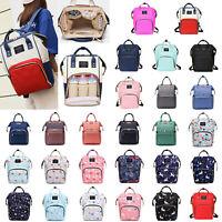 Mummy Maternity Nappy Diaper Bag Large Capacity Baby Travel Backpack Bag Handbag