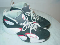 """2012 Nike Flight One """"Chicago"""" Penny Hardaway White/Black/Red Shoes! Size 11"""