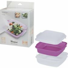 Whirlpool à Vapeur Pour Micro-Ondes Sain Cuisinière Pâtes Riz Veg C00334697