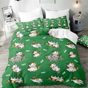 PUSHEEN CAT SHEETS SET Bedding FULL size 4 PC Decoration Gift Teens Girls Kitty
