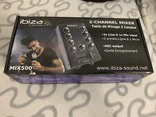 Ibiza Sound 2 Kanal Mischpult