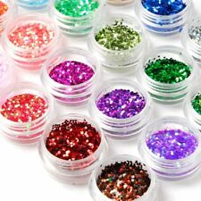 24Box Nail Art Decoration Glitter Paillette Dust poeder