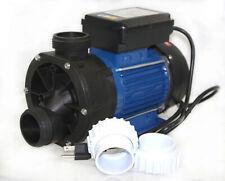 600 Watt 3/4 HP 85GPM ELECTRIC WATER PUMP POND SPA POOL PUMPS SUPPLY W/ ADAPTORS