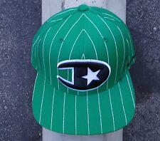 DGK Skateboard Co. Mens Green Lined Logo Snapback Hat HTDGK-14