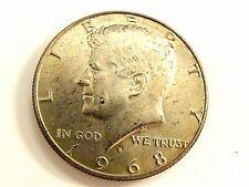 1968-D Kennedy Silver Half Dollar Coin