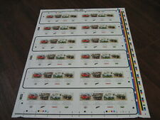 PRESS SHEET BRITISH AUTO WORKHORSE MINIATURE SHEET UNCUT SG MS3518 MNH ROYALMAIL