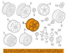 VW VOLKSWAGEN OEM 06-09 Rabbit-Wheel-Alloy Aluminum 1K5071497666