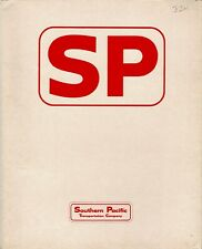 Southern Pacific Transportation Railroad Folder FREE SHIPPING