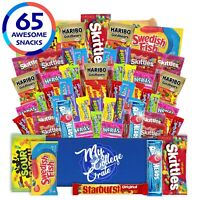 My College Crate Candy & Snack Box Ultimate Snack Care Package for College ...