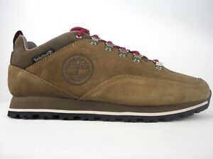 Mens Timberland Bartlett Ridge Low A26ES Shitake Leather Lace Up Trainers