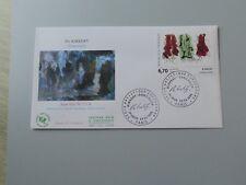 FDC tableau France lettre 1er jour 2969 Per Kirkeby 23 septembre 1995