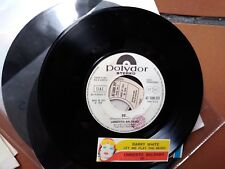 "7"" PROMO + STRIP BARRY WHITE LET THE MUSIC PLAY UMBERTO BALSAMO SE EX"