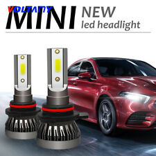 2PCS CREE 9012 6000K 36000LM LED Headlight Kit 120W Power High or Low Beam Bulbs