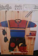 """Vintage Peter Pan Baby/Bambino Maglione Taglia 16"""" -24"""" in DK Lavoro a Maglia Pattern No783"""
