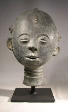 Large Akan (Ghana) Terracotta Funerary Head