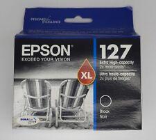 Epson 127 Black Ink Cartridges Genuine EXPIRED 2017