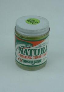 Uncle Josh FTB-CG Natura Floating Trout Bait Chartreuse Garlic Scent 24011