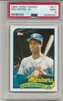 1989 TOPPS TRADED #41T KEN GRIFFEY JR. ROOKIE, PSA 9 MINT, HOF, L@@K !