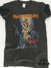 T-shirt Homme Rock Iron Maiden Killers Style vintage Neuf