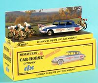 Car-Horse Citroen ds 19 Margnat Paloma cycliste Tour de France jante Dinky