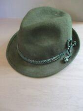 ANTON PICHLER Graz antique vintage Oktoberfest Bavarian green wool hat SMALL